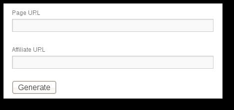 Affiliates Generate URL