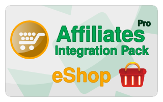 Affiliates Pro eShop Integration Pack