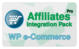 Affiliates Pro WP e-Commerce Integration Pack
