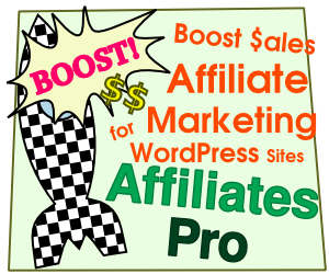 Boost Sales with Affiliates Pro for WordPress Sites