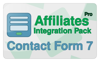 Affiliates Pro for Contact Form 7 Integration Pack