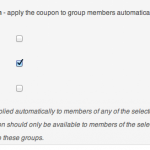 WooCommerce Groupons - Coupon Detail - Automatic