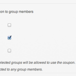 WooCommerce Groupons - Coupon Detail - Groups
