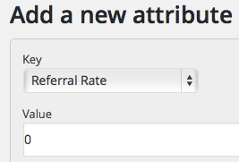 Referral Rate Zero