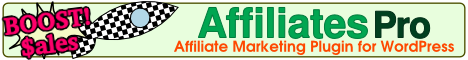 Boost Sales with Affiliates Pro - Affiliate Marketing Plugin for WordPress