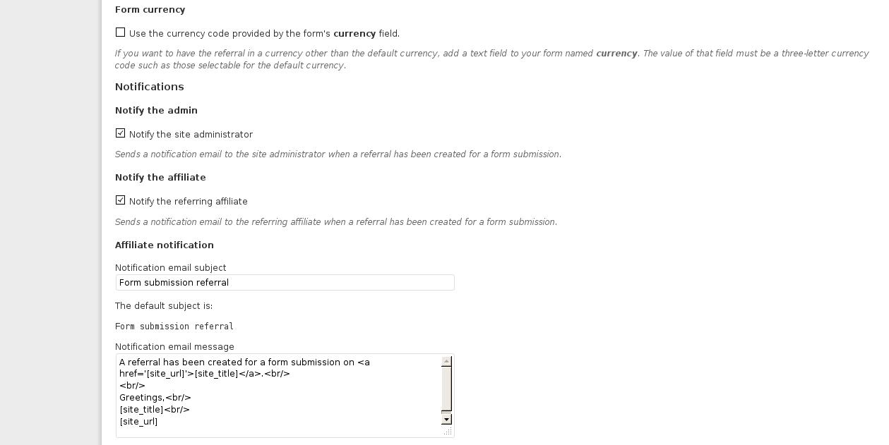 Affiliates Pro & Contact Form 7 Integration | itthinx