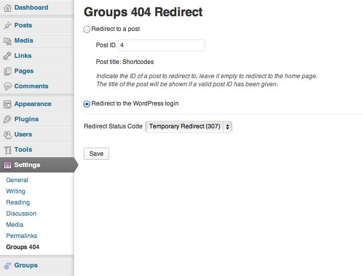 Groups 404 Redirect   itthinx