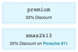 WooCommerce Group Coupons showing pretty Coupons