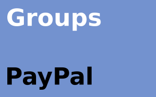 Groups PayPal
