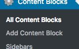 Widgets Control Pro Content Blocks and Sidebars