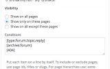 bbPress Forums Widget - Forums and Forum Archive, Topics, Replies, 404